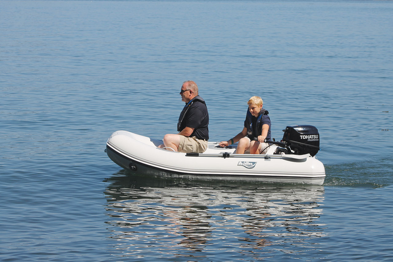 Achilles inflatable crafts boats parts for Blow up fishing boat